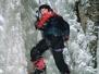 Lezení na ledo Adršpach 2006